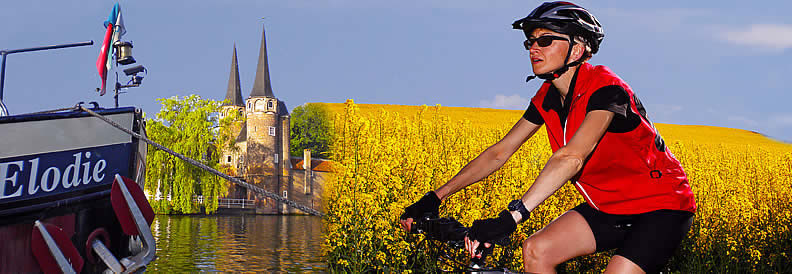 Bicycle tour Europe banner