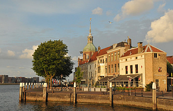 cycling to Dordrecht